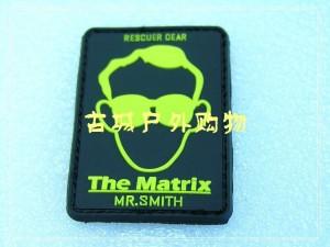 RESCUER拯救者-matrix矩阵徽章/魔术贴章(黑色)