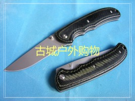 9系三刃木狂蟒折刀MC6-908 库存老款