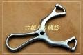 清仓特价-TC21钛合金铣切割手工抛光-诡异弹弓