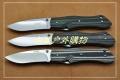 三刃木2014巨献-9系双滚珠锁钢本色G10柄9051MUC(原M1)
