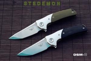 Stedemon_DSM-III轴承快开MRBS系统VG-10钢DSM-3折刀