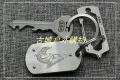 三刃木个性小工具EDC钥匙扣十字一字螺丝刀GJ034Z
