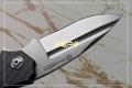 北欧WILLUMSEN钛合金碳素柄轴承快开石洗D2粉末钢折刀