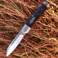 兄弟牌Brother江豚1503碳素柄和骨柄VG-10钢背锁折刀NAVY代工